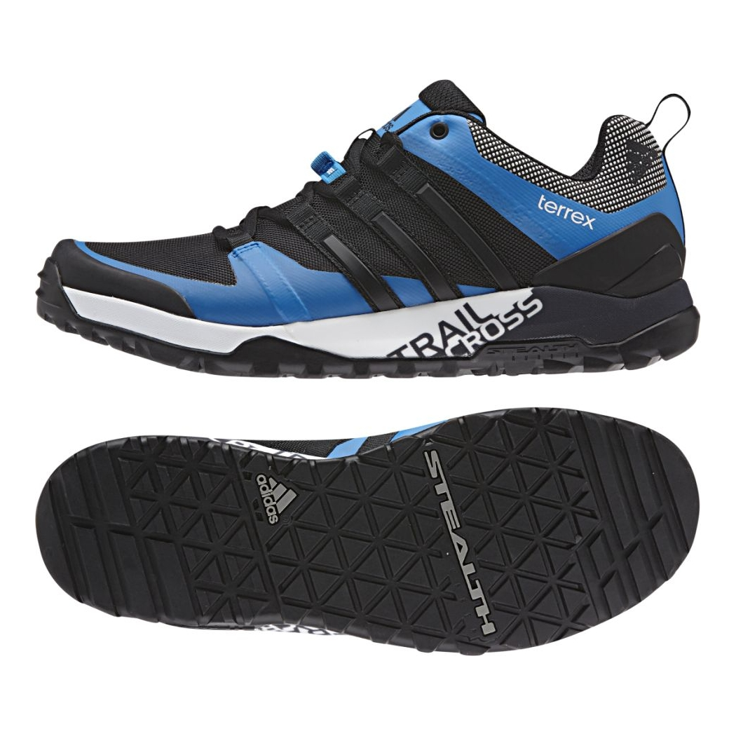 adidas terrex trail cross sl shock blue core black white. Black Bedroom Furniture Sets. Home Design Ideas