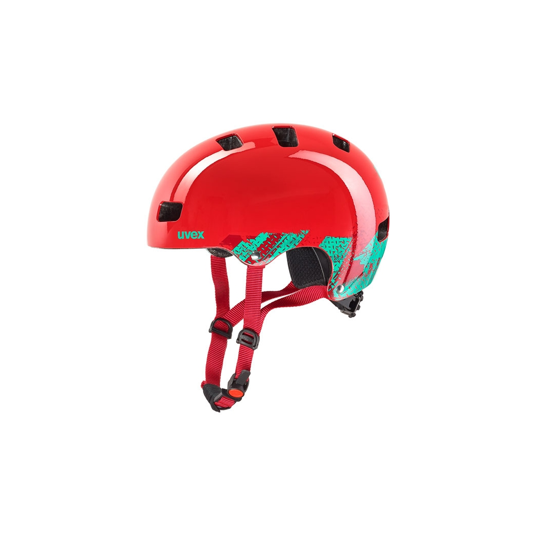 Kid 3 Helmet blackout red