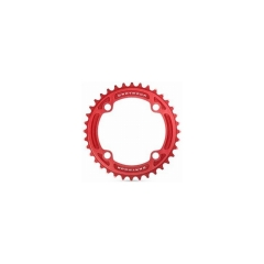 Dartmoor Chainring Totem alu 7075, 38T, red