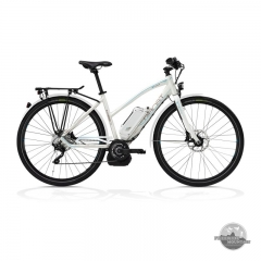 Ghost E-Hybride Trekking 9000 LADY 2013 white brown blue