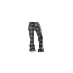 Ride Carswell Vented Pant Gray Plaid 09
