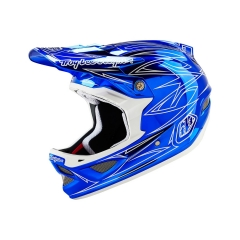 Troy Lee Designs D3 Helmet pinstripe II blue
