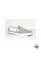 Vans Classic Slip On Polka Dots Black / White