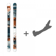 Salomon Threat Skiset 2014 + Bindung