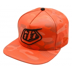 Troy Lee Designs Shield Camo Hat orange OneSize