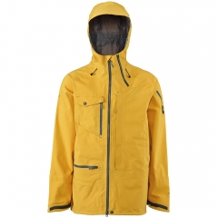 Scott Ridge Jacket golden yellow