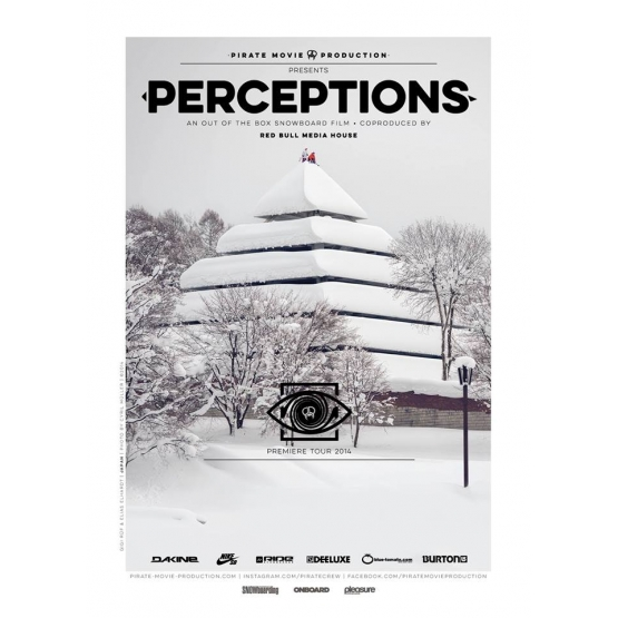 Doppelpremiere Film - Pirates Perceptions & Crystalised III - am 02.10.2014