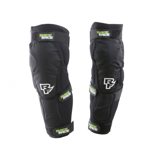 Race Face Flank Leg Knee Guard stealth M