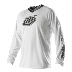 Troy Lee Designs White Out Jersey white