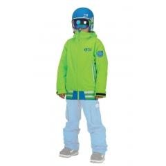 Picture Park Avenue Jacket Kids fluo green