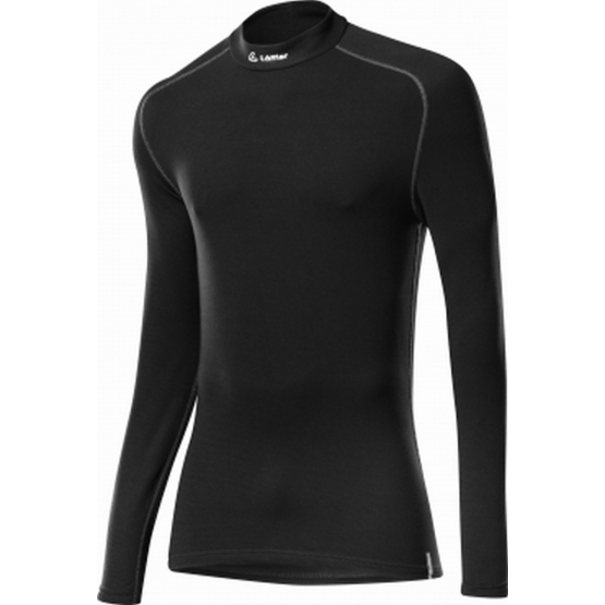 Löffler Turtleneck-Shirt Transtex schwarz 50/M