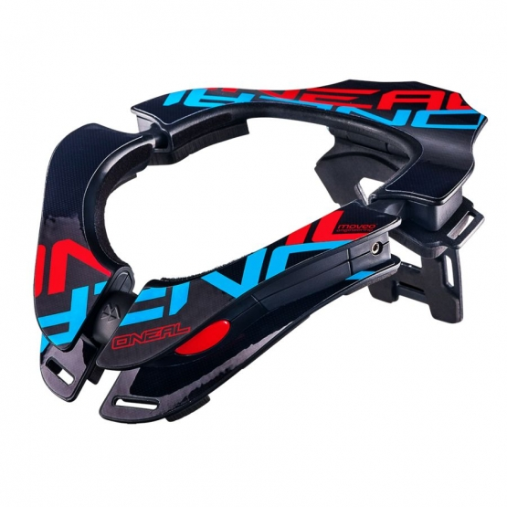 Oneal Tron Neckbrace blue red