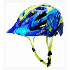 Troy Lee Desings A1 Helmet galaxy blue