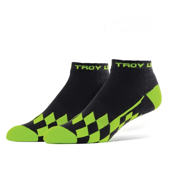 Troy Lee Designs Quarter Crew Checker Socks Multi (8-10) 3 Stk.