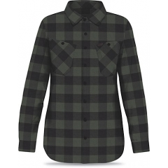 Dakine Womens Canterbury Flannel pine black
