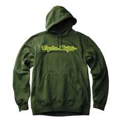 Troy Lee Designs Signature Pullover olive