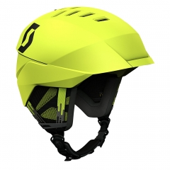Scott Coulter Helmet chartreuse yellow