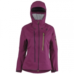 Scott Explorair 3L Womens Jacket magenta purple