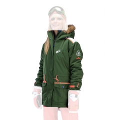 Picture Apply Womens Jacket kaki