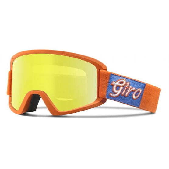 Giro Semi orange gameday grey cobalt, yellow lens