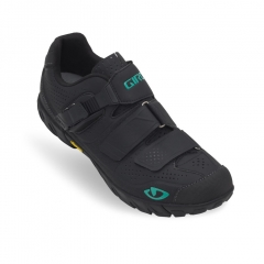 Giro Terradura Shoe black dynasty green