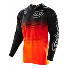 Troy Lee Designs SE Jersey Starburst Flo Orange