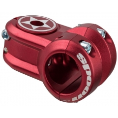 Spank Spoon 2.0 Stem 31.8mm incl. topcap red 40mm