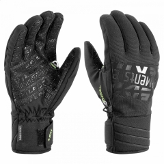 Leki Elements Helium S Gloves black yellow