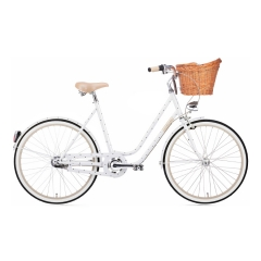 Creme Cycles Molly Chic Lady 3-Speed white w/ dots