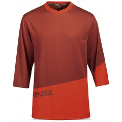 Dakine Vectra S/S Jersey red rock / blaze