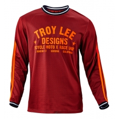 Troy Lee Designs Super Retro Jersey maroon orange