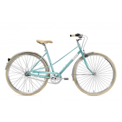 Creme Cycles Caferacer Lady Uno 3-Speed turquoise