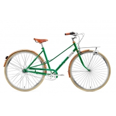 Creme Cycles Caferacer Lady Doppio 7-Speed emerald green