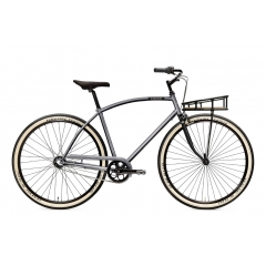 Creme Cycles Glider Solo 3-Speed titanium silver