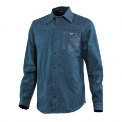 Platzangst Mountain Ridge Shirt blue