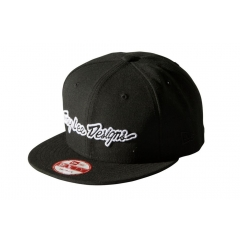 Troy Lee Designs Classic Signature Hat black