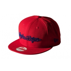 Troy Lee Designs Classic Signature Hat red