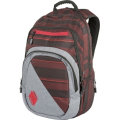 Nitro Stash 29l red stripes