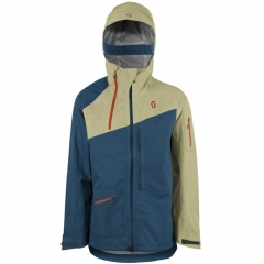 Scott Vertic 3L Jacket sahara beige/eclipse blue
