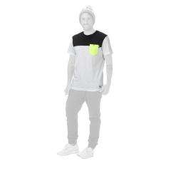 Picture Pocket T-Shirt white