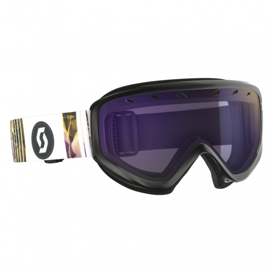 Scott Lura Black Berry Pink Goggle amplifier purple chr. / illu