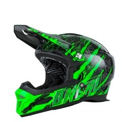 Oneal Fury RL Helmet mercury black/green