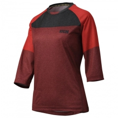 IXS Vibe 6.1 BC 3/4 Lady Jersey night red