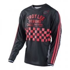 Troy Lee Designs Super Retro Jersey check black/red