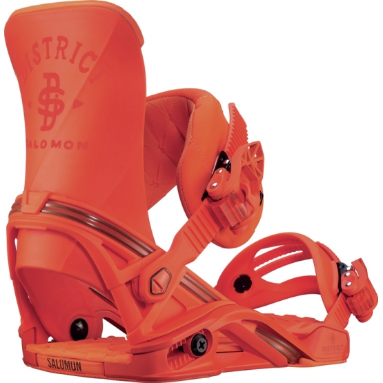 Salomon District Snowbindung orange