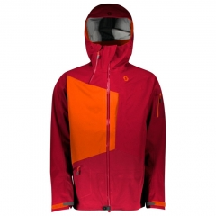 Scott Vertic 3L Jacket royal red/moroccan red