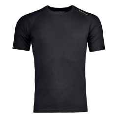 Ortovox 145 Ultra Short Sleeve M black raven