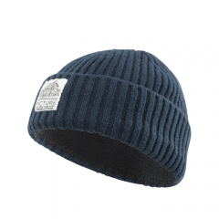 Picture Ship Beanie dark blue