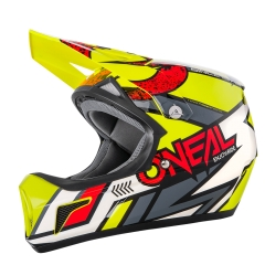 Oneal Sonus Helmet Strike yellow