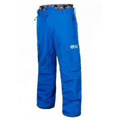 Picture Panel Pant picture blue